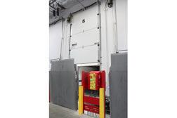 Assa Abbloy hurricane resistant cold storage door