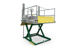 Southworth Products dock lift