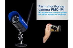 Alfa Laval farm monitoring camera