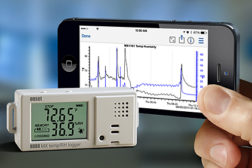 Onset temp humidity data logger