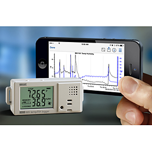 Onset temp humidity data logger