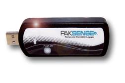 PakSense temp and humidity logger
