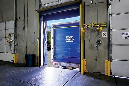 Dock Door Seals For Refrigerated Trucking Industry 2015