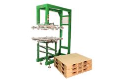 Lifdek corrugated pallet system
