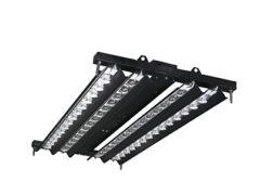 Orion black LED lighting fixture