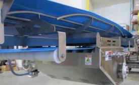 Eaglestone troughed rod bed conveyor