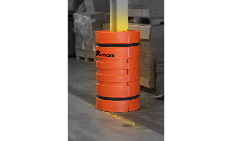 Protect Columns From Forklift Damage 2015 11 09