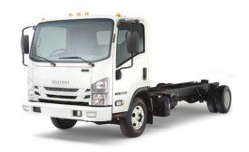 Isuzu NPR diesel truck