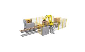 Douglas Machine robotic palletizer
