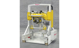 Flexicon swing down bulk bag filler