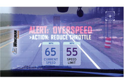 International Trucks overspeed alert