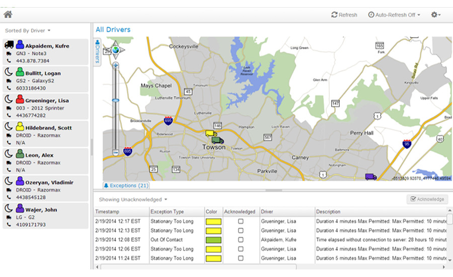 Enhanced Fleet Management Software to On-Premise Vehicle Routing