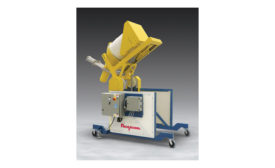 Flexicon mobile drum dumper