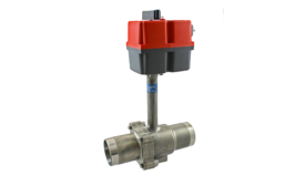 HANTEMP Controls ball valve