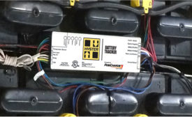Hyster battery tracker