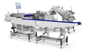 Multivac centrifuge feeder