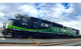 Norfolk Southern eco friendly locomotive