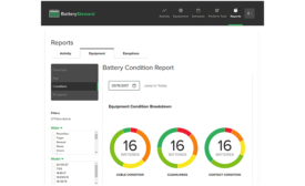 Flow-Rite battery monitoring software