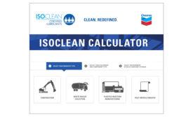 Chevron ISOCLEAN lubricant