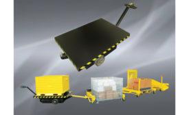 Air Technical Industries self-propelled platform truck-tug