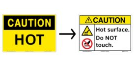 Clarion Safety Systems OSHA Safety Sign