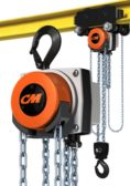 Columbus McKinnon Yale YK Shaw-Box SK electric wire rope hoists