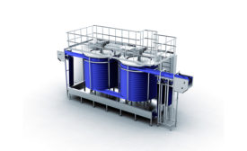 FPS Food Process Solutions Spiral Immersion System