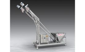 Flexicon Twin BEV-CON Flexible Screw Conveyor