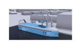 Kongsberg Yara zero emissions ship