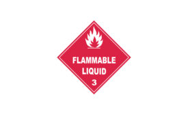Labelmaster Flammable signs
