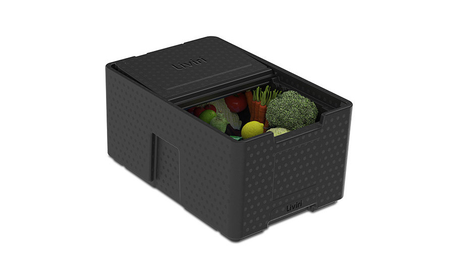 Reusable insulated boxes for e-commerce grocers