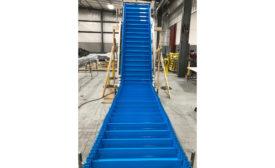 Multi-Conveyor Flighted Incline Conveyor