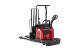 Raymond Model 8410 pallet truck with 2nd level pick