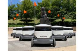 Starship Technologies autonomous robots
