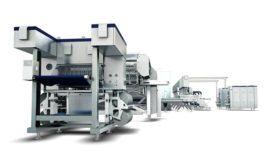 Tetra Pak ice cream extrusion line