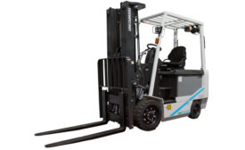 UniCarriers BXC65 4-Wheel, cushion tire, electric forklift