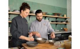 UniFirst Chef Coats MIMIX OilBlok