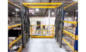 Wildeck Pallet Drop Zone Safety Gate