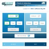 e4score EZCheck-In App