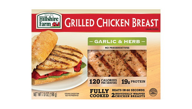 Hillshire Farms grilled chicken