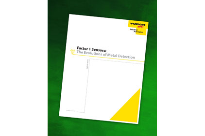 Turck metal detection white paper