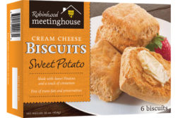 Gagne sweet potato biscuits