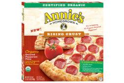 Annie's self-rising crust pizza