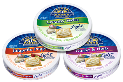 Crystal Farms spreadable cheese