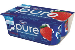 Dannon Pure yogurt
