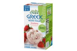 Healthy Choice Greek frozen yogurt