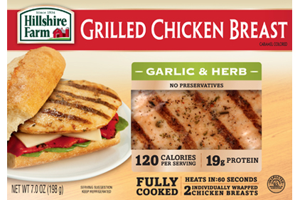 Hillshire Farms grilled chicken breast