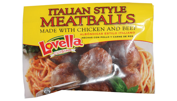 Lovella Cuisine spaghetti and meatballs