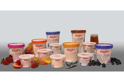 Ruggles Greek frozen yogurt