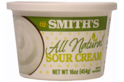 Smith's sour cream